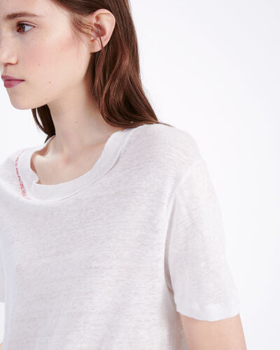 IRO - SLOW T-SHIRT NEAR WHITE