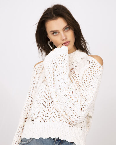 IRO - UNCTUOUS SWEATER OFF WHITE